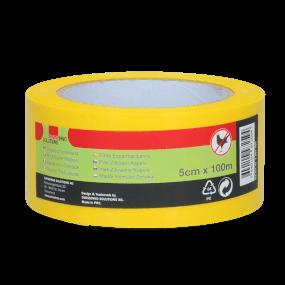 Vogelabwehrendes Band gelb 100 m x 5 cm
