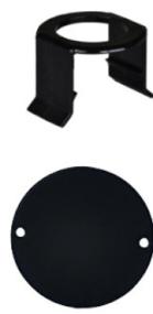 MILK BAR -  Vitality 5 Saugerklammern und 5 Stallmarkierungen Schwarz