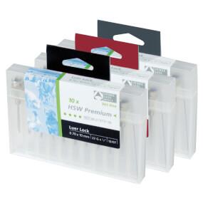 HSW-PREMIUM® Kanüle mit Luer-Lock Ansatz 1,0 x 15 mm