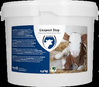 HAC / EXCELLENT - Licopect Stop - Auflösbares Mittel für Rinder, für die Förderung der Darmfunktion