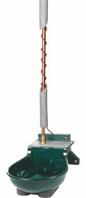 Tränkebecken SB 113 NT H RBH mit Rohrbegleitheizung 230 Volt / 66 Watt (Frostschutz bis ca. -25°C)