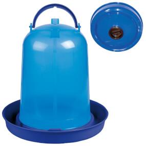 Geflügeltränke Eco 10 Liter, blau mit Befüll-Öffnung