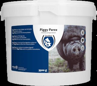 HAC - Piggy Parex, Ergänzungsfuttermittel für Schweine 3,5 Kg, zum Halten der Gesundheit