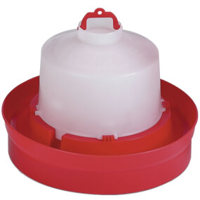 Kükentränke 2. Alter - 5 Liter -  Rot, Geflügeltränke