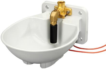 Tränkebecken SB 23 H  BACTO® PROTECT mit Heizkabel 24 Volt / 33 Watt (Frostschutz bis ca. -20°C)