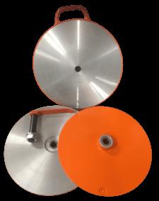 HORNER - Schleifplattenset für Schleifmaschinen für Schermesser,für Heiniger, Supershear und Lister