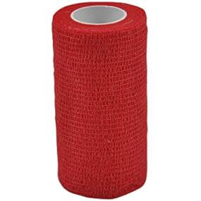 TAPE&CARE - Klauenbandage (Rot) - 10 cm * 450 cm, Stretch, Klauenbandage