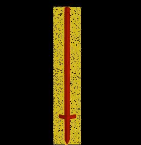 Winkeleisenpfahl125cm x 3mm