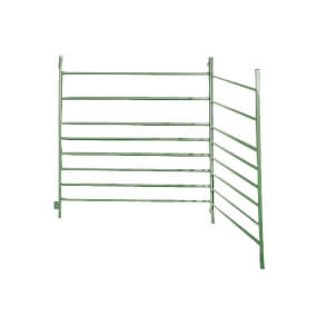 FARMTIGER - Panel für Schafe und Ziegen, Schafzaun, Weidepanel, Länge 100cm, Höhe 100cm, Farbe grün