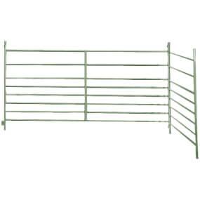 FARMTIGER - Panel für Schafe und Ziegen, Schafzaun, Weidepanel, Länge 200cm, Höhe 100cm, Farbe grün