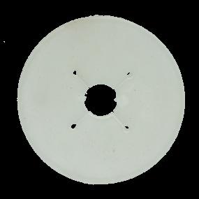 VPLAST - Gebisscheibe Pony 70 mm transparant