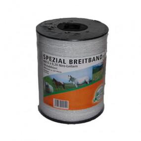 Spezial-Breitband 13mm 200m6x0,20 Niro weiß