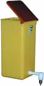 Nippeltränke mit Deckel1,0 Liter