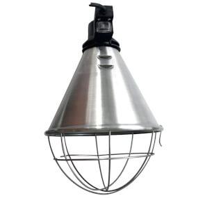 FARMTIGER - Lampenfassung für Wärmestrahlgerät, mit Haken, 2.5m Kabel