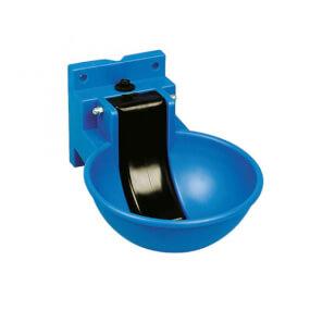 Kunststoff-Tränkebeckenblau
