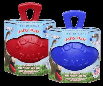 Jolly Ball 20cm Rot Pferd und Hund