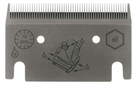 Schermesser UNTERMESSER LI 1253