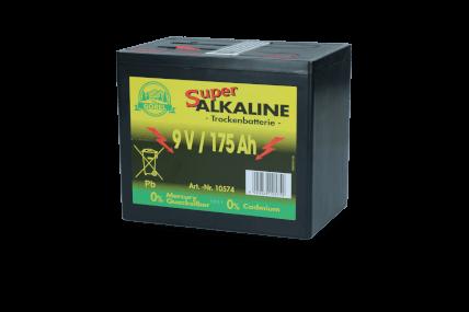 HAC - Trockenbatterie Durobat 9V/175 Ah (H16 x L19 x B13 cm)