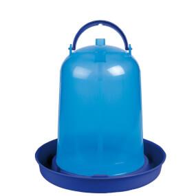 """Vogeltränke für Geflügel """"Eco"""" 1,5 Liter - Blau"""