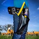 HORNER - Rambo - QuickDraw Schermaschine mit Gürtelakku- Rinderschermaschine, Schafschermaschine,