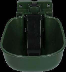 Tränkebecken Kunststoff mit Zunge Grün