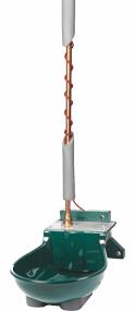 Tränkebecken SB 112 NT H RBH mit Rohrbegleitheizung 230 Volt / 66 Watt (Frostschutz bis ca. -25°C)