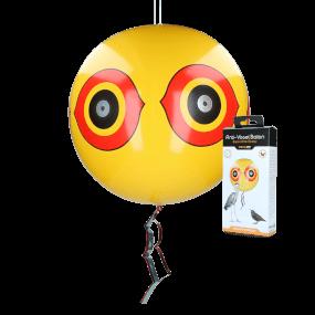 Knock Off Schreck-Ballon Gelb