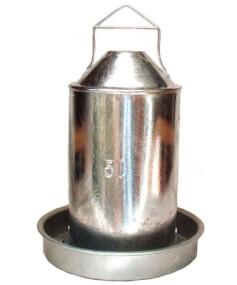 Metall Hühnertränke 5,0 Liter