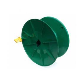 Kunststoff Drahthaspel grünmit Trage