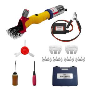 HORNER - Rambo Schermaschine 12V Batteriebetrieb- Rinderschermaschine, Scharfschermaschine