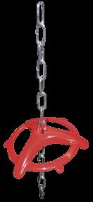 HAC - Ferkelbeißring mit Aufhängekette