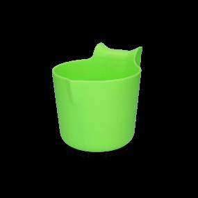 HAC - Futtertrog zum Einhängen 8 l limonengrün