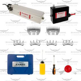 HORNER - Rambo - Schermaschine- Netz oder Batteriebetrieb- Rinderschermaschine, Schafschermaschine