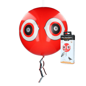 KNOCK OFF - Vogelscheuche ballon, rot