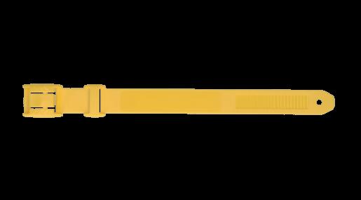 HAC - Markierungsband aus Kunststoff, gelb