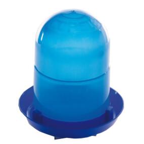 Kükentränke ohne Stand Füße, 2 Liter - Blau, Geflügeltränke