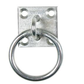 Bodenplatte mit beweglichem Ringverzinkt