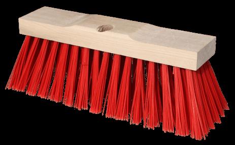 Straßenbesen 35x10,5cm pvc rot