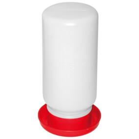Tränke für Wachteln/Küken, 1 L, mit Schraubverschluss