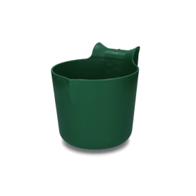 HAC - Futtertrog zum Einhängen 8 l grün