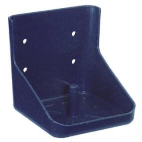 Salzlecksteinhalter Kunststoffblau