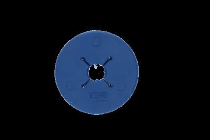 VPLAST - Gebisscheibe Pony 70 mm dunkelblau