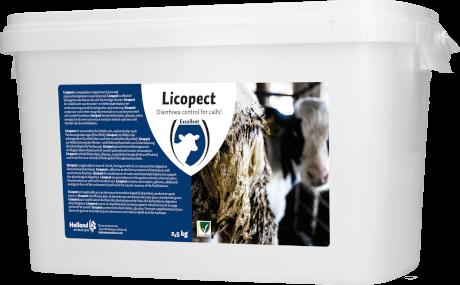 HAC / EXCELLENT - Licopect 2,5 Kg, Diätfutter für Kälber mit Durchfall