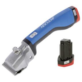 AESCULAP -  Akkuschermaschine Bonum blau GT644-BL- Rinder inkl. 2 Akku - Rinderschermaschine