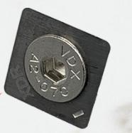COWCARE - Messer für Klauenscheibe Titan (runde Ecken), 3 mm - Klauenbearbeitung