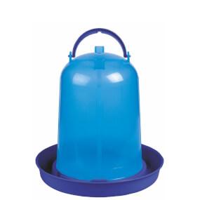 """Vogeltränke für Geflügel """"Eco"""" 8 Liter - Blau"""