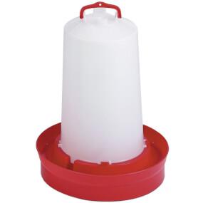Geflügel Trinker 2. Alter - 12 Liter - Rot
